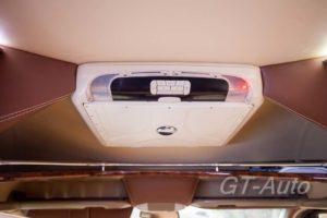 Установка TV в персональном автобусе Mercedes-Benz